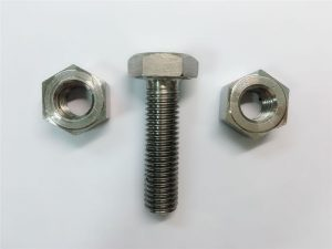 अलॉय &२25 र stain०० स्टेनलेस स्टील हेक्स नट्स डाइन 3434 en एन २.485858 एन १.4.4558