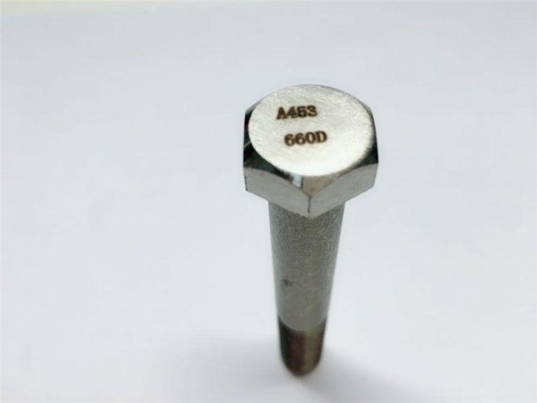 a286 उच्च गुणवत्ता फास्टनर्स एस्टम a453 660 en1.4980 हार्डवेयर मेशिन स्क्रू फिक्सिंग