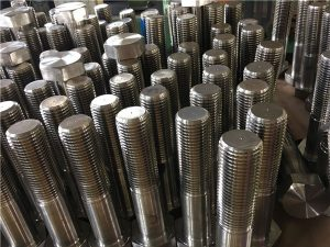 No.12-hex bolts ISO4014 आधा थ्रेड A193 B8, B8M, B8T, B8C SS फास्टनर
