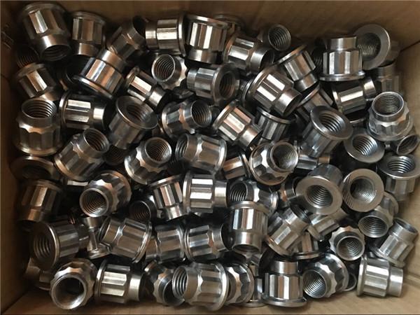 कस्टम फास्टनर m20 17-4 फिन्जी अखरोट, उच्च तापमान मिश्र धातु 630