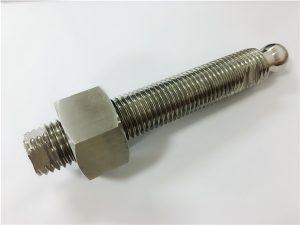 No.22- अनुकूलन सीएनसी मिलिंग स्टेनलेस स्टील बल हेड बोल्ट र फास्टनर