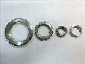 No.33- चीन आपूर्तिकर्ता अनुकूलन स्टेनलेस स्टील गोल नट बनायो