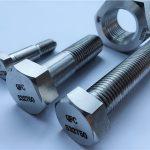 निकल मिश्र monel400 स्टिल मूल्य प्रति किलो स्टड बोल्ट नट स्क्रू फास्टनर en2.4360