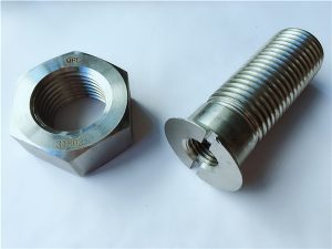 No.55-High गुणवत्ता डुप्लेक्स 2205 स्टेनलेस स्टील बोल्ट र नटहरू