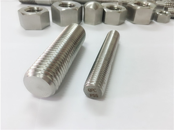 f55 / zeron100 स्टेनलेस स्टील फास्टनर्स पूर्ण थ्रेडेड रड s32760
