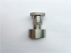 न। 95--एसएस 4०4, 6१6L, 7१7L SS410 क्यारिज बोल्ट गोल नटको साथ, गैर-मानक फास्टनरहरू
