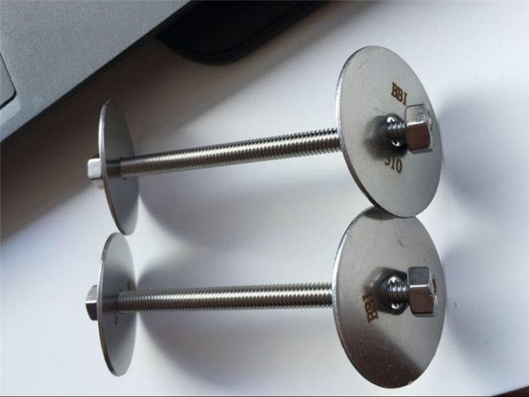 ss310 / ss310s astm f593 फास्टनर, स्टेनलेस स्टील बोल्ट, नट र धुने