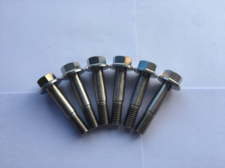 din 7504 Sudin 7504 सुपर डुप्लेक्स F55 स्टेनलेस स्टील हेक्सागन flange टाउको आत्म-ड्रिलिंग स्क्रू