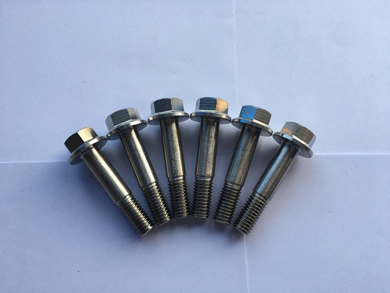 din 7504 सुपर डुप्लेक्स f55 स्टेनलेस स्टील हेक्सागन फ्ल्यांज हेड सेल्फ ड्रिलिंग स्क्रू