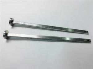 हार्डवेयर फास्टनर आपूर्तिकर्ता 6१6 स्टेनलेस स्टील फ्लैट हेड स्क्वायर गर्दन डाइन 3०3 m4 क्यारिज बोल्ट